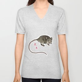 Year of the Mouse Unisex V-Neck