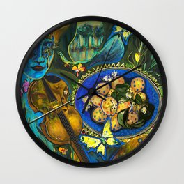 New Beginnings Wall Clock