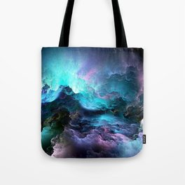 Space storm Tote Bag
