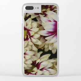 Multi color daisies! Clear iPhone Case