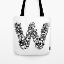 The Illustrated W Tote Bag