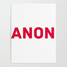 ANON Poster