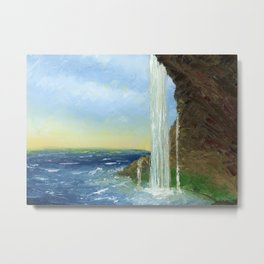 Waterfall by MacGregor Metal Print