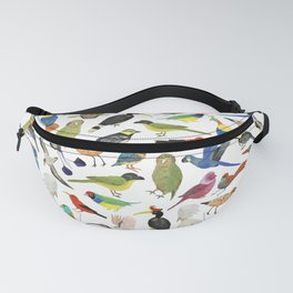 Endangered Birds Around the World Fanny Pack