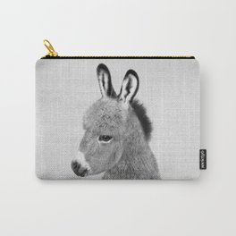 Donkey - Black & White Carry-All Pouch