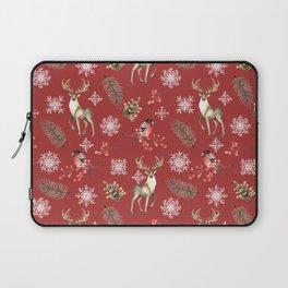 Deer and bullfinches Laptop Sleeve