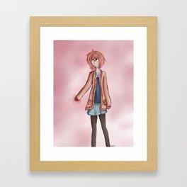 mirai kuriyama Framed Art Print