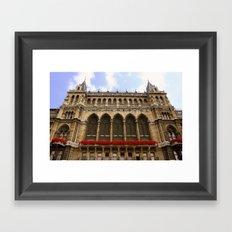 Building in Vienna Framed Art Print