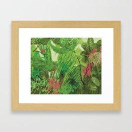 Spring Bird in a Tree Framed Art Print