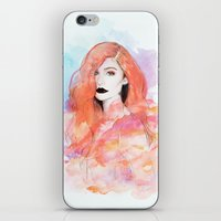 ariel iPhone & iPod Skins featuring Ariel by Sara Eshak