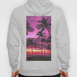 Retro Palm Sunset Hoody