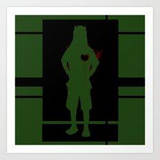 Soldier of Unfortunate Love Art Print