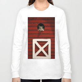 Barn Mouse Long Sleeve T-shirt