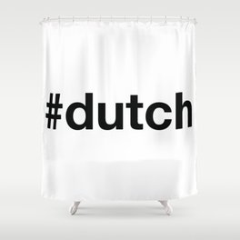 DUTCH Shower Curtain