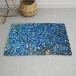Forget-Me-Not Rug