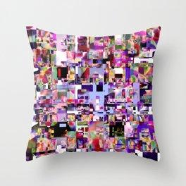 - minimal TV - Throw Pillow