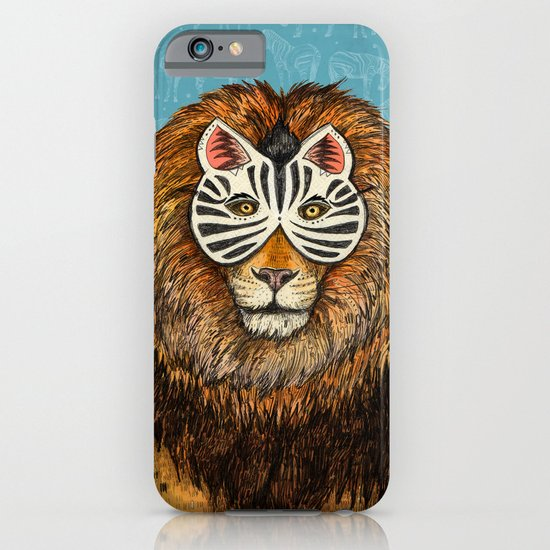 ZebraLion iPhone & iPod Case