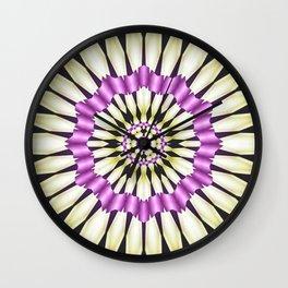 Abstract Ribbons Wall Clock