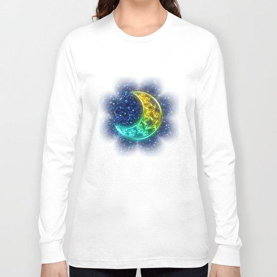 Moon Night Long Sleeve T-shirt