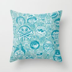 Characters Throw Pillow