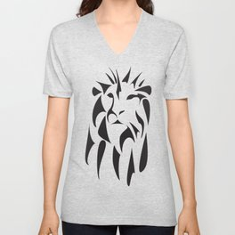 Majestic Lion Unisex V-Neck