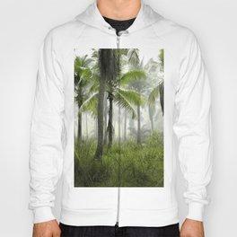 Foggy Palm Forest Hoody
