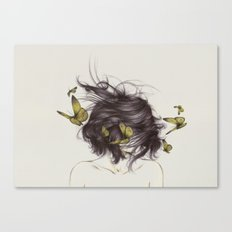 Hair III Canvas Print