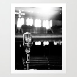 On Stage at the Opry Art Print