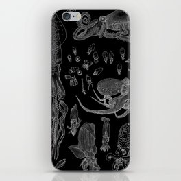 Cephalopods (Inverted) iPhone Skin