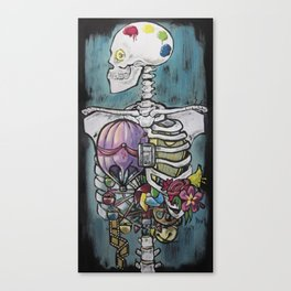 Anatomy of Whimsy Canvas Print