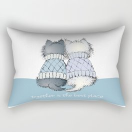 Together is the best place Rectangular Pillow