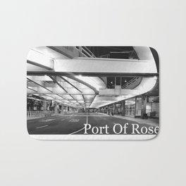 Port of Roses Bath Mat