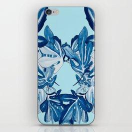 Shade of Blue iPhone Skin