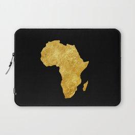 Gold Africa Laptop Sleeve