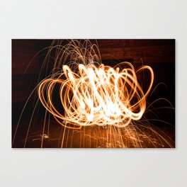 Fire Starter Canvas Print