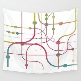 Line x Line-BubblegumPop-B Wall Tapestry