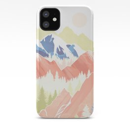 Spring Hills iPhone Case