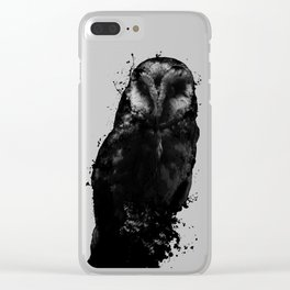 The Owl Clear iPhone Case