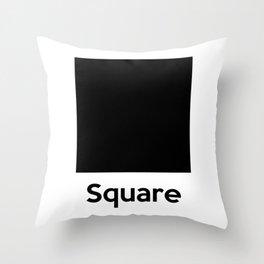 Square Shape Throw Pillow