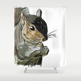 Squirrel 1 Shower Curtain