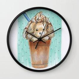 Frap-Poo-Ccino Wall Clock