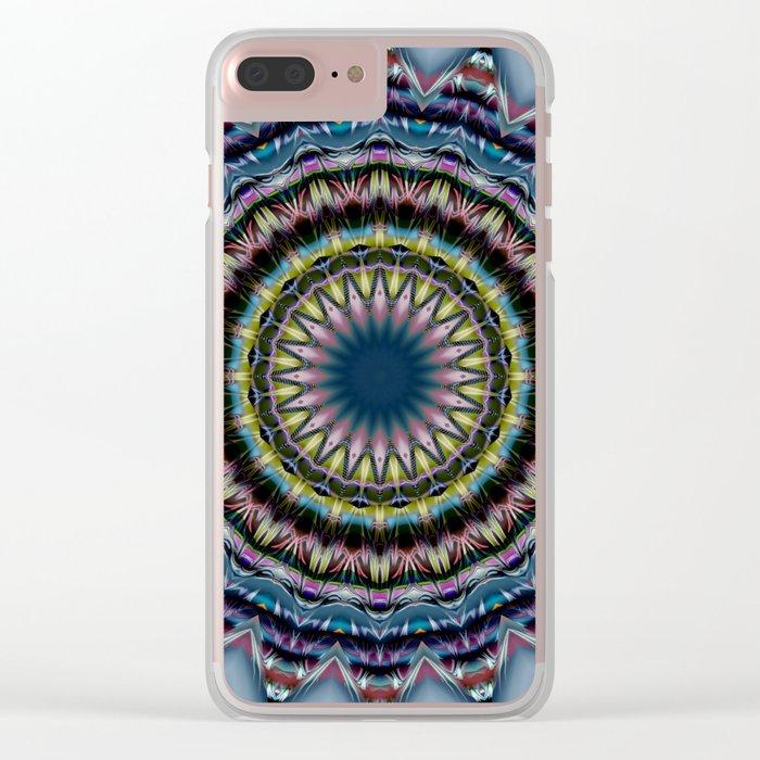 Mandala snugness Clear iPhone Case