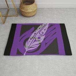The Gift - Purple Rug