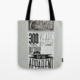 Spontaneous Combustion Tote Bag