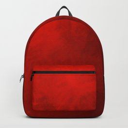 Royal Watercolor Valentine Red Background Backpack