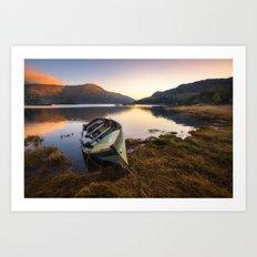 Silent in the morning - Ireland (RR230) Art Print