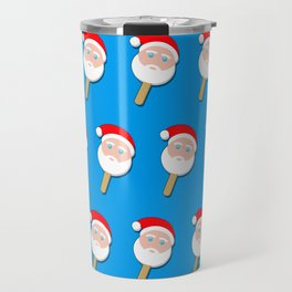 santa clause bubble gum ice cream Travel Mug