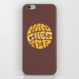 MANCHESTER iPhone Skin