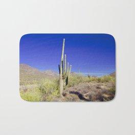 Carefree Cactus Bath Mat