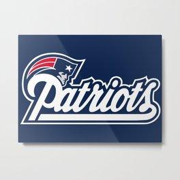 Patriots Logo  Metal Print